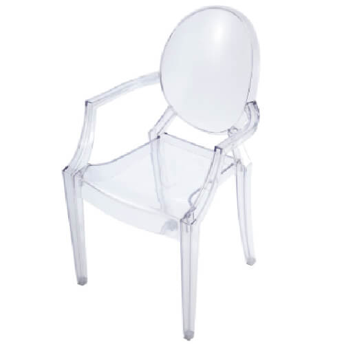 GHOST CHAIR WITH ARMS-01