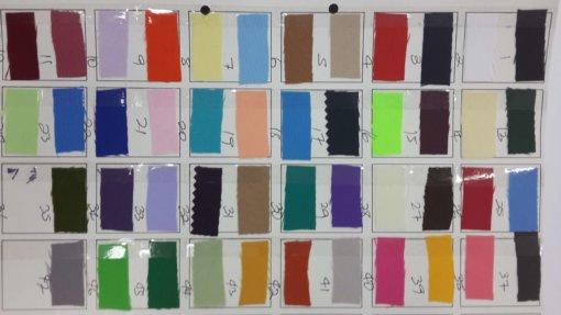 mini matt tabling sample chart