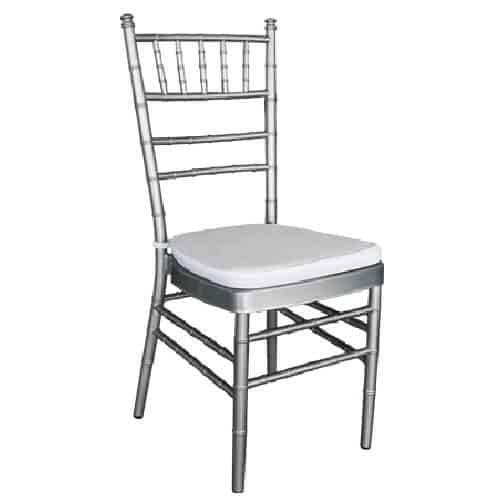 Silver Tiffany Chair