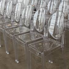 clear ghost chairs without arms
