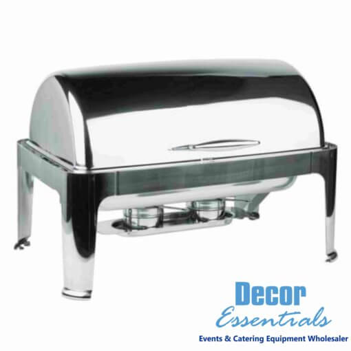 chafing dishes dome with window