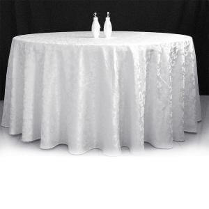 Round table Cloth for Sale Damask Extended Round 3.3mt