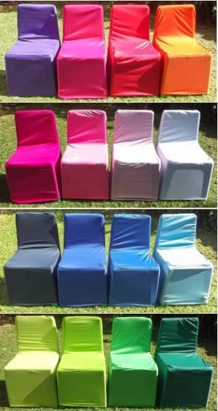 kiddies chair covers in wide range of colour made with trilobal fabrics
