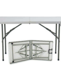 4 foot canteen table and kiddies party table