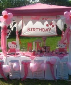 gazebo covers pink for parties