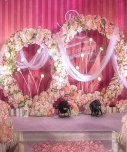 5pc floral backdrop on Sale