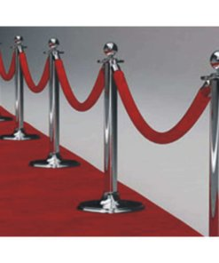 stanchions red for vip entry