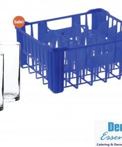 Free Crate Holds 30 Glasses 48 Hi Ball Glasses