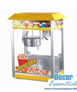 ELECTRIC popcorn machine power 1.44kw 220v/50h Capacity 80z perfect for kiddies parties , charity fair