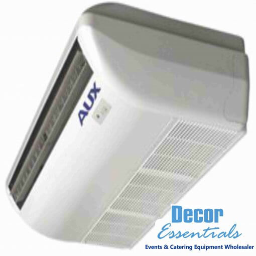 Rating Cooling / Heating Power (W)105 Rating Cooling / Heating Current (A)0.48 EER2.73 Air Circulation (m³/h)1800/1440/1260 Dimensions Indoor (mm)1631 x 660 x 205 Packaging Dimensions Indoor (mm)1697 x 710 x 280 Weight (kg) Indoor (net / gross)44 / 49 Applicable Room Area (m³)60 -140 Noise Level DB (A)= 51/48/42