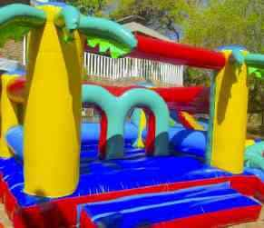 jumping castle activity