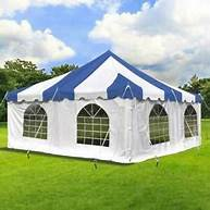 square-pole-tent-striped-roof-white-walls