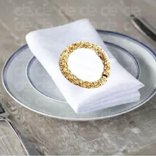 Gold Bracelet Napkin Ring