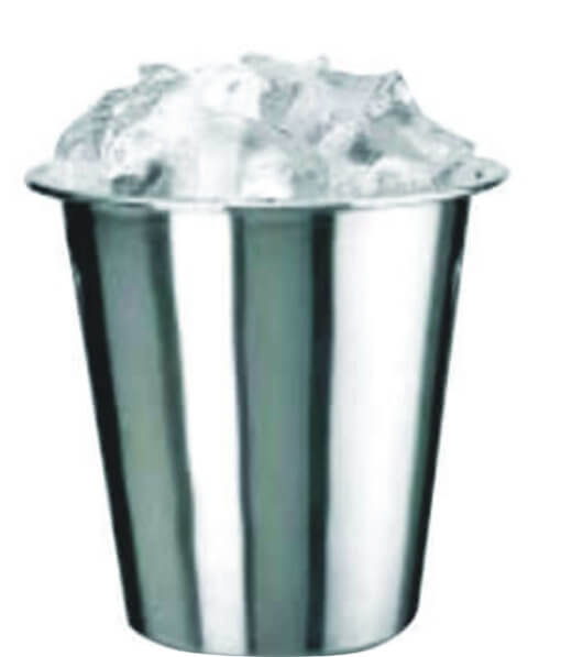steel ice buckets 4 litre