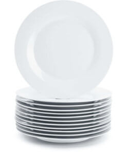 crockery dinner plates