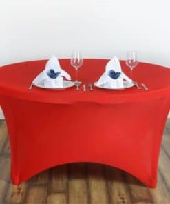 Round Banqueting Table Cloth
