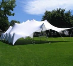 Stretch tent white