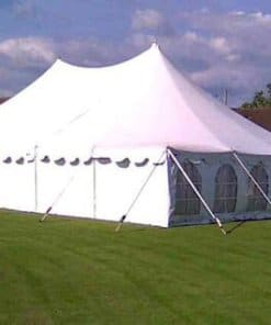 5x 10 peg and pole tent