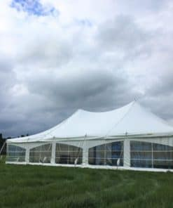 9x15 peg and pole tent