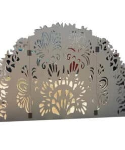 Laser Cut Backdrop