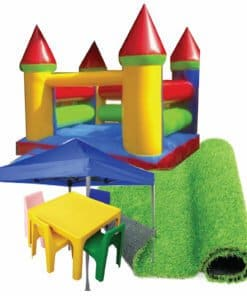 Kiddies Jumping Castle Combo