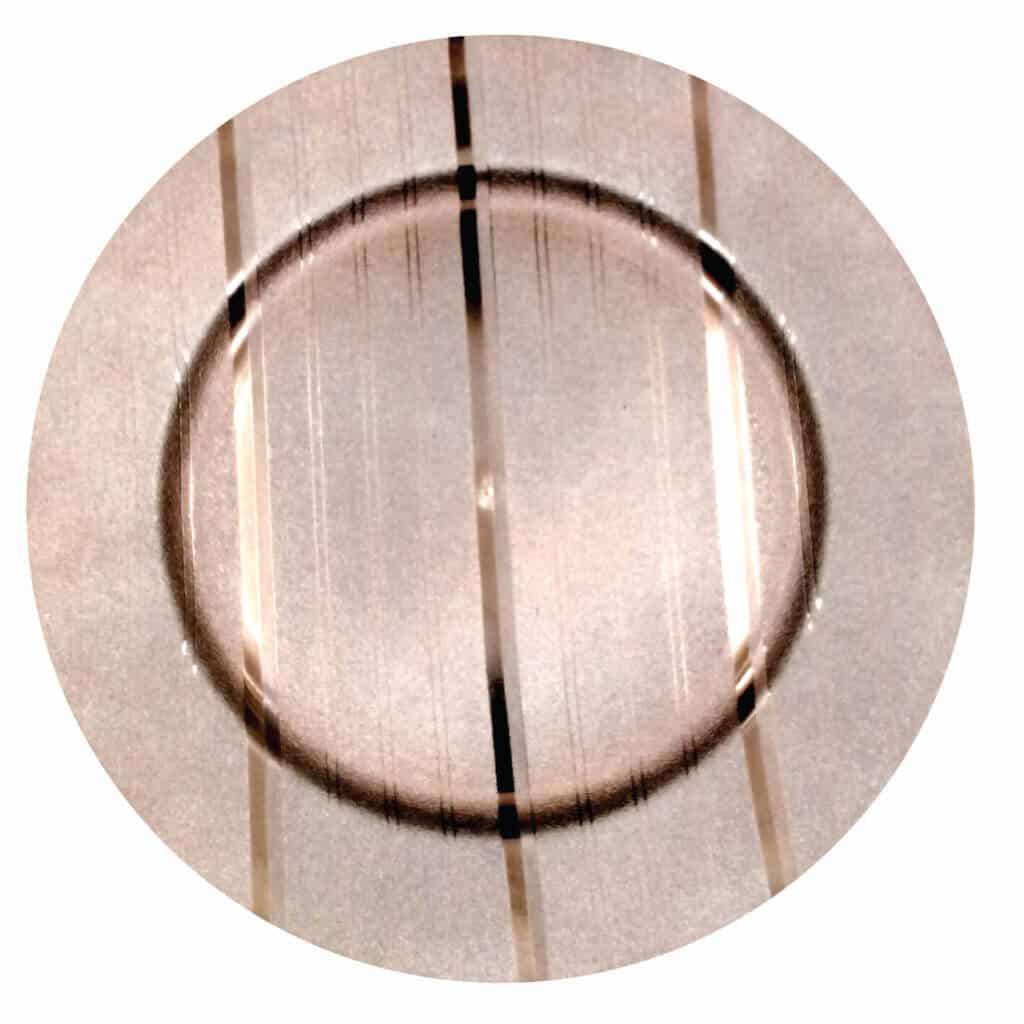 Plastic Bronze Underplate