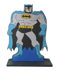 Batman Kiddies Center Pieces made of wood