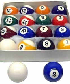 AMERICAN SNOOKER BALL SET