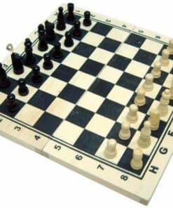 Chess Game Wooden Made (2)