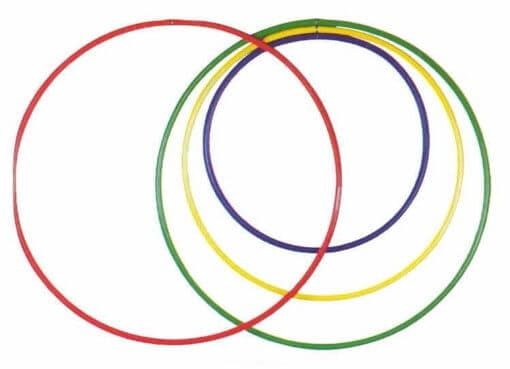 HOOLA HOOPS MADE WITH SHAKER