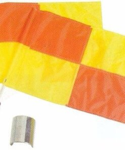 Linesman Flag Chequered Design