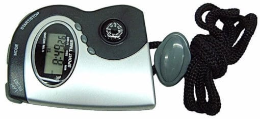 STOP WATCH WITH COMPASS