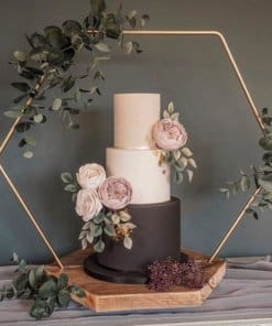 Hexagon Cake Stand