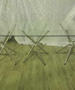 Rectangle Table Glass Table 12 Seater Table