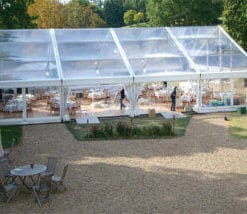 frame Tent clear