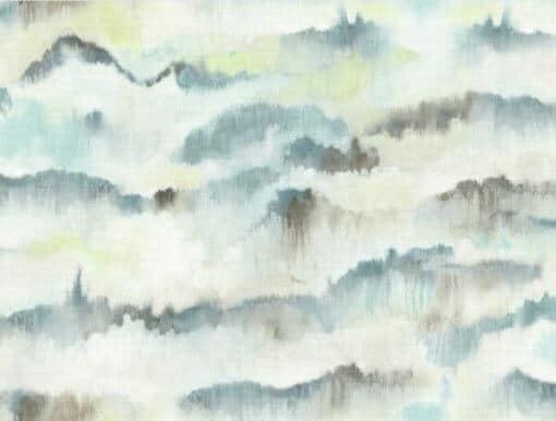 misty mountain spring