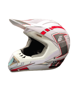 White_and_Red_Motorcycle_Helmet 1