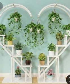 Heart Shelving for Events and Home