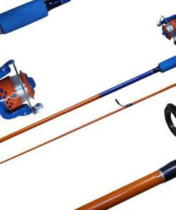 COMBO J/WALKER JUNIOR SPIN 6FT BLUE/ORANGE