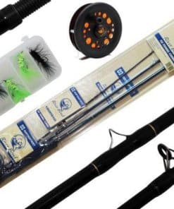 COMBO FLY RIVER BEND STARTER PACK 3PC, 8FT, 5/6WT