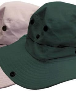 EMBROIDERED FISHING CAP 58CM ASSORTED COLORS