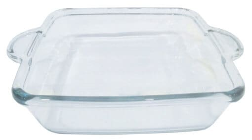 Clear Square Oven Dish 26 x 26cm