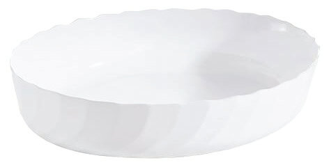 Consol Classic Oval Opal Oven Glass Dish 32cm x 24cm