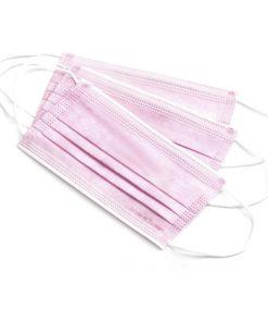 Pink face masks