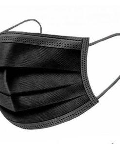 3ply black masks