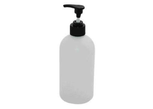 500ml pump bottles for sanitzer stands