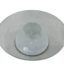 cake stand glass footed