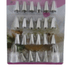 icing set 24pc stainless steel