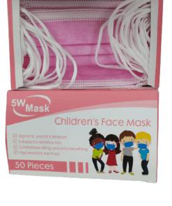 kiddies pink mask