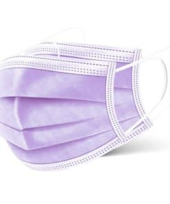 purple surgical masks